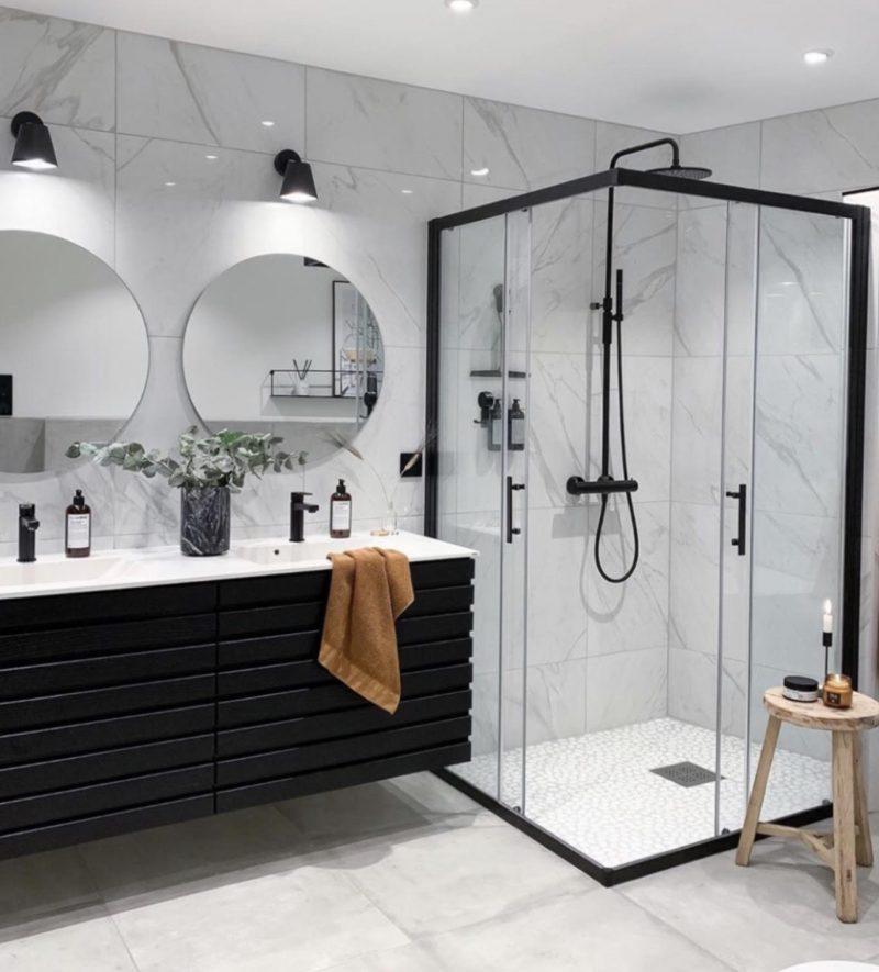 Siyah duşakabinler